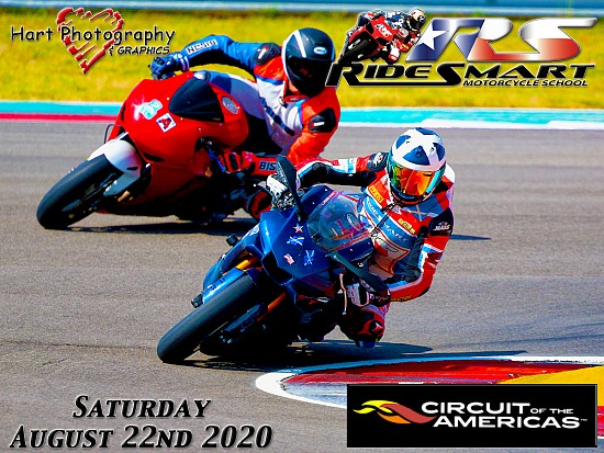Ridesmart - Circuit of the Americas - Saturday August 22nd