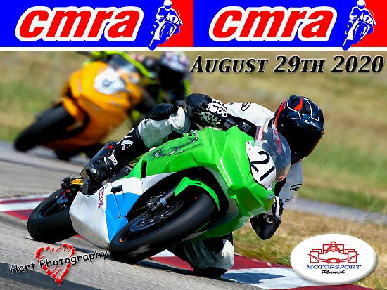 CMRA - Motorsport Ranch - Saturday August 29th 2020