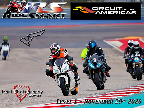 Ridesmart - Circuit of the Americas - Level 1 - Sunday November 29th 2020