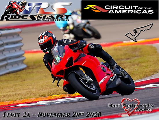 Ridesmart - Circuit of the Americas - Level 2A - Sunday November 29th 2020