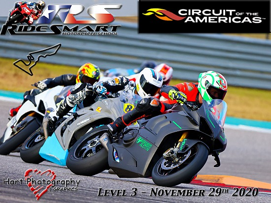 Ridesmart - Circuit of the Americas - Level 3 - Sunday November 29th 2020