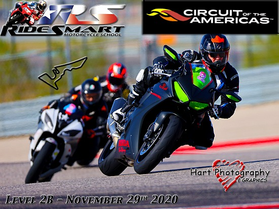 Ridesmart - Circuit of the Americas - Level 2B - Sunday November 29th 2020