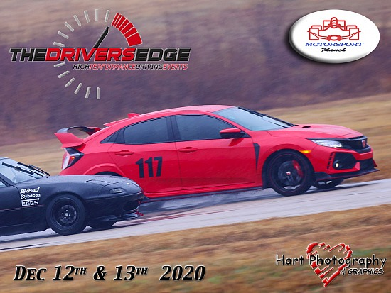 The Drivers Edge - Motorsport Ranch - December 12th 13th 2020